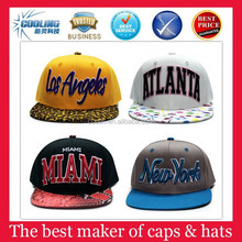 Sports teams snapback basketball caps wholesale