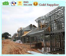 cheap prefab steel structure house