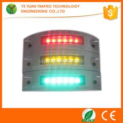 novel traffic safety reflector semi-circular solar eyes
