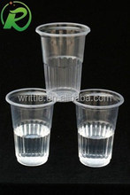 High quality excellent price eco-friendly custom reusable plastic cups wholesale with dome lid