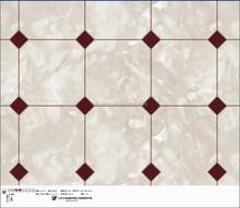plastic pvc laminated flooring popular pattern decoration good quality
