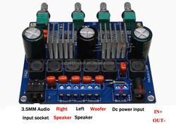 TPA3116D2 TPA3116 2.1 high power HIFI digital power amplifier board TPA3116D2 / better than TPA3123, TDA2030, LM1875