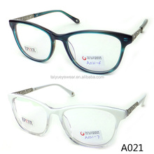 2015 hot selling acetate optical frame quick delivery with CE approval A021