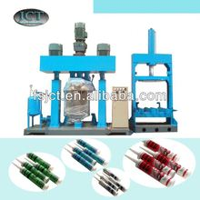 Machine for making gasket cement