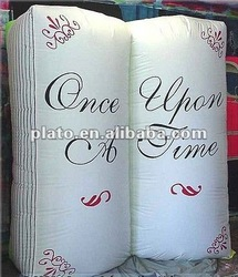 2012 Attractive inflatable book customized size