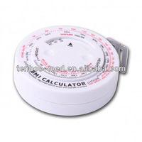 TM4 Round Shape BMI Calculator,bmi tape measure,bmi measuring tape