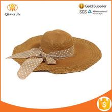 2015 Wholesale fashion beach cap sun hat summer straw hat