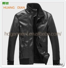 2015 Autumn Mens Designer Motorcycle Leather Jacket/High Quality Windbreaker Leather Jackets