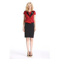 Two Pieces Fashion Wholesale Office Lady Dress