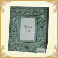 Wholesale old style wooden photo frame for decor