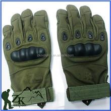 2015 New Design Hot Sale Army O Full Finger Gloves Outdoor Sport Microfiber Nylon Gloves Hand Gloves Foe Bikes GW-13L