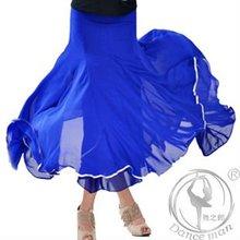 Charming chiffon dance skirts MQ1081