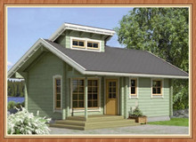 2015 Cheap Prefabricated Wooden House for Sell