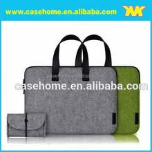 "Portable Wool Felt Bag For Laptop 13"" 14"" 15.6"" 17 inch, Custom Laptop handbags/Tote bags"
