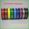 1kg/spool certification abs pla filament 1.75mm 3d printer plastic