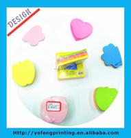 2014 HOT selling custom round sticky note