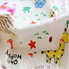 100% cotton lovely animal custom, printed cotton fabric for children