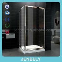 6/8mm povot hinge glass shower door