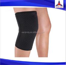 Closed sleeve adjustable knee pad protector injury support brace basketball