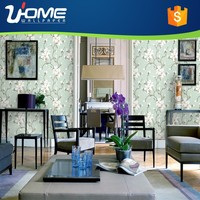 Uhome Yulan magnolia/ Elegant Praise Style Classical 3D Design Wallpaper/wall paper for home decor