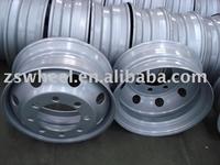19.5 inch truck steel wheel rims