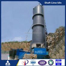 coal or coke fired green energy premium lime vertical kiln for calcining petroleum coke