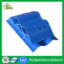 PVC Plastic Roof Tile Synthetic Spanish Roof Tile Fiberglass Spanish Roofing Tiles