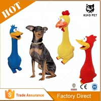 Dog Chew Shrilling Screaming Rubber Chicken Toys