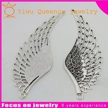Hot sale gold alloy charm triple pave tassel earrings