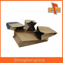 guangzhou kraft paper bag heat seal for bread paper bag packaging