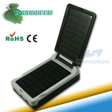 Solar Portable Charger USB Travel Charger for AA Batteries