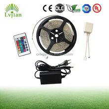 RGB LED Strip Kit, 5M 5050 or 3528 SMD RGB Flex LED Light Strip with 44 Key Controller and 220V 5A Driver