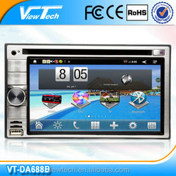 universal 2 din 6.2 inch promotional android car dvd player with gps