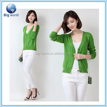 Cardigan Sweater Woolen Sweater Design for Ladies simple& fashion