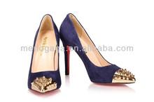 2014 dama fabricación china cueros elegent de zapatos para vestido de fiesta