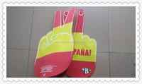 custom foam finger wholesale/giant foam hand/cheer foam hand
