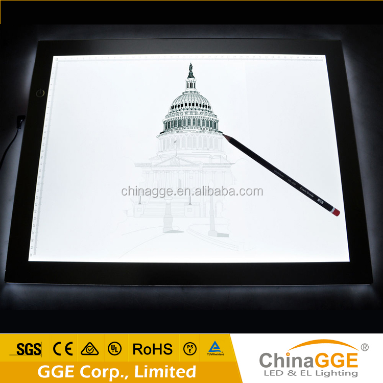 Ultrathin Led Drawing Or Tracing Board Calligraphy Light