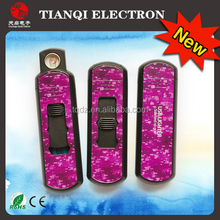 2015 Monibao usb electric pulse lighter best gift safe and no gas