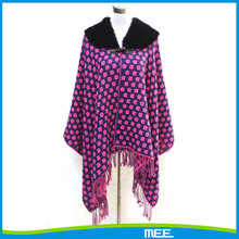 new style latest design high quality ponchos and shawls