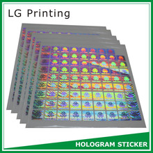 hologram security sticker
