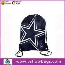 soccer drawstring bag printed satin drawstring shoe bag drawstring gift bag