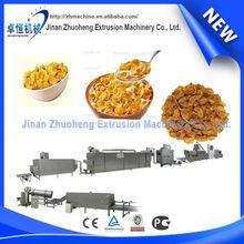 china wholesale market Cornflakes Breakfast Cereal Snack Extruder Machine