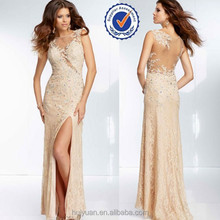 Sexy Lace sleeveless Sequin Beaded Elie Saab Evening Dress