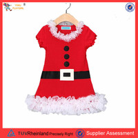 PGCC1663 High quality sexy Santa children cute christmas costume party costume