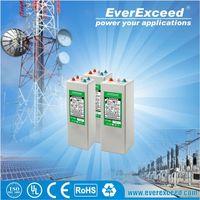 EverExceed 2v 200ah Flat plate solar gel battery