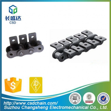 CSD,12B professional strong Tensile durable short pitch Steel tensile strength of chain with attachments A1,A2,K1,K2