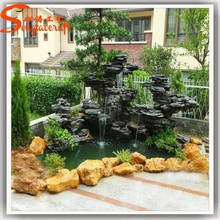 2015 Factory Design Resin Garden Water Fountains Fiberglass Outdoor Resin Fountains Interior Water Fountains