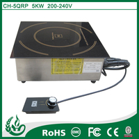 Induction single electric hot plate with built in design