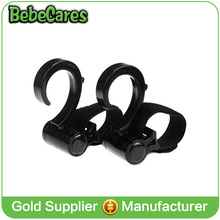 Stroller Hook - 2 Pack of Multi Purpose Hooks - Hanger for Baby Diaper Bags, Groceries, Clothing, Purse - Great Accessory