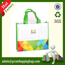 100% RPET bag,recycle PET tote grocery bag